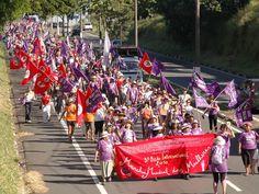 """A mostra """"Feminismo em Marcha"""" fica em cartaz de 25 de agosto a 30 de setembro na Galeria Olido."""