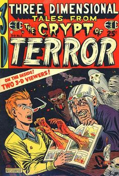 100+ extremely confusing vintage horror comic covers