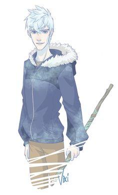 Oh, hey cutie. Hey Jack Frost.