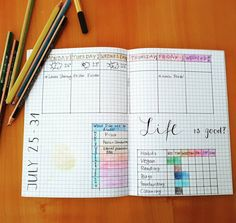 I'm obsessed. | 25 Satisfying Bullet Journal Layouts That'll Soothe Your Soul