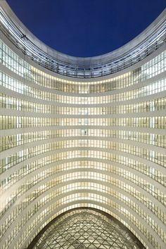 The Galaxy SOHO, Beijing, 2012 #facade #zahahadid