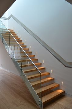 Stair In private home Carlton North – staircase House Staircase, Open Staircase, Floating Staircase, Staircase Railings, Stairways, Staircase Ideas, Grand Staircase, Home Stairs Design, Railing Design
