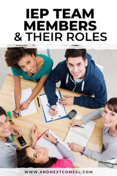 Learn all about who can attend IEP meetings, including who the IEP team members are and what their roles are #IEPs #IEP #IEPmeetings #specialeducation