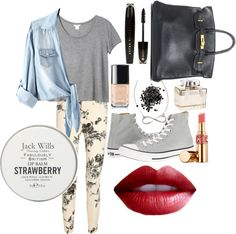 """Kiss my red lips!"" by giorgiasunlight on Polyvore"