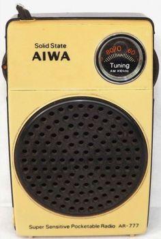 Radios, Le Radio, Retro, Tvs, Pocket Radio, Antique Radio, Transistor Radio, Gadgets And Gizmos, Boombox