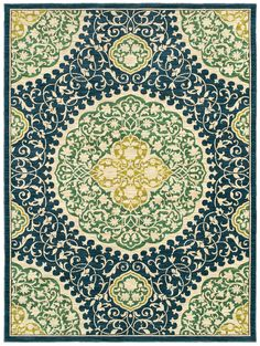 Shaw Melrose San Marino 17400 Indigo Area Rug|Payless Rugs   Melrose  Collection By Shaw