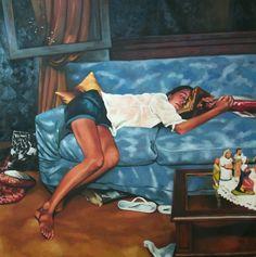 """""""Christmas Sleeping Teenager"""" composition (2011) - Thomas Saliot"""