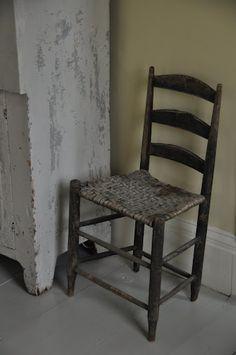 antique ladderback