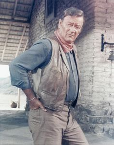 John Wayne - seeing this makes me think of my Dad. He loved old westerns, especially John Wayne. Miss you Daddy!