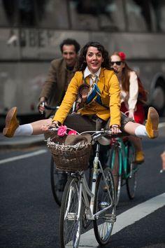 The Tweed Run London 2014 by Tweed Run