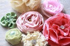 DIY ribbon flower tutorial