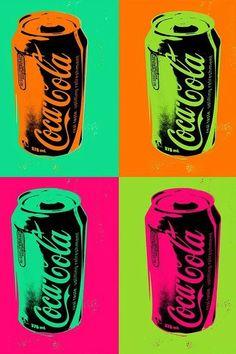 Coca Cola Pop Art iPhone and iPod touch wallpaper Coca Cola Wallpaper, Pop Art Wallpaper, Iphone Wallpaper, Coca Cola Bottles, Coke Cans, Fanta, Atelier D Art, Retro Pop, Arte Pop