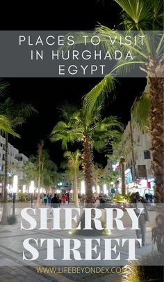 Sherry Street is a place must visit in Hurghada Egypt. It's a lively street for shopping, eating and hanging out. This is the place, you don't want to miss om Hurghada. Cool Places To Visit, Places To Go, Hurghada Egypt, Travel Advise, Travel Tips, Places Worth Visiting, Visit Egypt, Egypt Travel, Where To Go
