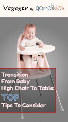 These are some important measures you need to take if you are considering the transition from high chair to table. It is a long process, and you will have to keep a watchful eye on your baby to determine whether or not he/she is ready. For more idea, please visit www.gandikids.com . #baby #kids #toddler #babyhighchair #parents #highchair #modern #kidblog #mom #child #mother Mom Survival Kit, Survival Guide, Nouveaux Parents, First Time Moms, Baby Hacks, Parenting Hacks, Fun Activities, Kids Learning, Baby Kids