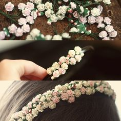 DIY Flower Headband I thought I would continue the headband trend for another day. Click on the link above and check out how to make this easy and cute flower headband. (: