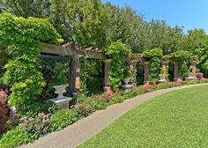 12 Best Pergola Walkway Images In 2014 Garden Structures