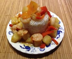 Recipe Sweet & Sour Prawns by osram - Recipe of category Main dishes - fish