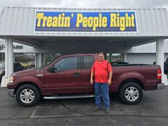 Congratulations Timothy Layne on the purchase of your 2004 Ford F-150. We appreciate your business & friendship.