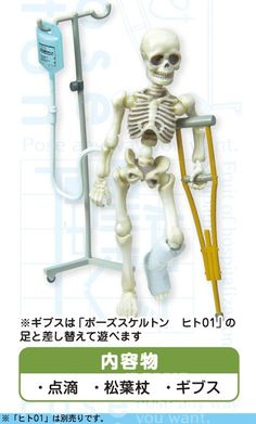 """Re-ment Miniatures Rement Pose Skeleton /""""Dog 01/"""" non Scale"""