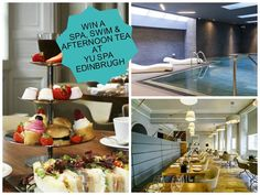 Apex 12 Days to Christmas Prize Giveaway - Day 10: Just three more prizes left to give away! Today's gift is a relaxing Spa, Swim and Afternoon Tea package at Yu Spa Edinburgh. To enter all you have to do is go to facebook & like, comment or share for a chance to win! ‪#‎apex12daystoChristmas‬
