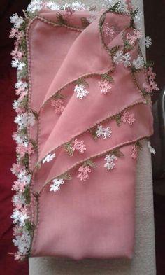 Ribbon Embroidery, Embroidery Designs, Crochet Boarders, Needle Lace, Bargello, Knitting Yarn, Crochet Flowers, Needlework, Knit Crochet