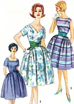 Vintage Sewing Pattern 1960s Simplicity 3877 Mad by paneenjerez, $14.00