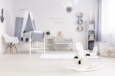 How to create the best nursery room layout com baby set up ideas setup twin Shabby Chic Furniture, Shabby Chic Decor, Cool Furniture, Furniture Stores, Baby Nursery Furniture, Nursery Room Decor, Room Setup, Office Interior Design, Interior Decorating