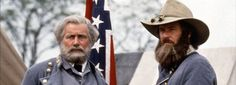 Gen. Lee and Gen. Longstreet Played by Martin Sheen and Top Beringer