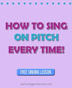 If you have trouble starting your songs exactly on pitch, then this singing tutorial is for you! http://singerssecret.com/how-to-come-in-on-pitch-every-time/ #singing #lessons