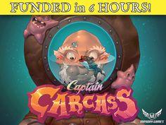 Dead Man's Draw Deluxe Tin Box Card Game -Captain Carcass! by Seth Hiatt —Kickstarter