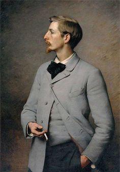 Portrait of Paul Wayland Bartlett by Charles Sprague Pearce.