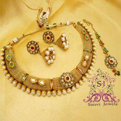 Antique Kundan & Polki  Necklace
