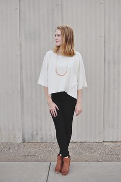 Horizon Raw Silk Top