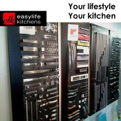 Choosing the correct handles for your cupboards is as important as selecting the cupboard itself. Easylife Kitchens George has a full display of handles and knobs to help you decide on your style of finish.