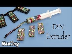 Use a Plastic Syringe as a Polymer Clay Extruder!