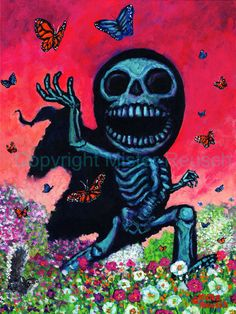 NEW 2011 Spring Reaper Seasonal Signed Print by by misterreusch, $30.00