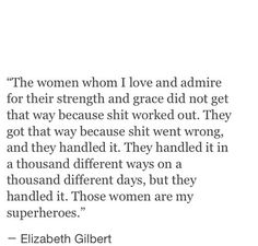 Those Women. i'm one of those women. and i am proud of myself