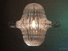 Hot or Not? Re-purposed Clothes Hanger Chandelier