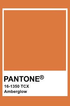 Pantone amberglow Pantone Tcx, Pantone Swatches, Pantone 2020, Color Swatches, Colour Pallete, Colour Schemes, Color Trends, Color Combinations, Pantone Colour Palettes