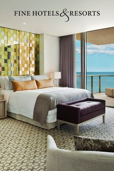 Indulge even more at some of the world's most luxurious hotels. Enjoy a unique extra amenity valued at $100 at over 900 luxury hotels when you book FINE HOTELS & RESORTS through American Express Travel. Terms apply.