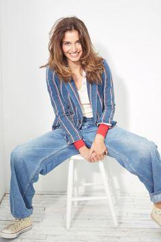 Andreea Diaconu. Vogue.com. Cass Bird