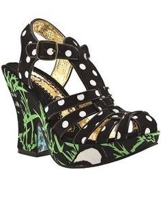 Irregular Choice Panda sandals. I have these, they're awesome!!