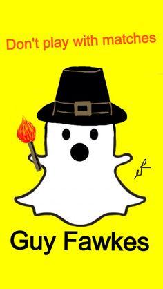 Snapchat fawkes Guy Fawkes