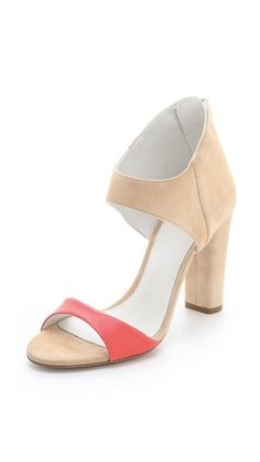 oh dear, I need these! Claudia Suede Sandals by Plomo