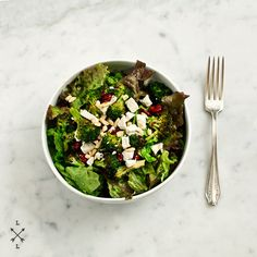 Roasted Broccoli and Cranberry Salad by loveandlemons #Salad #Broccoli #Cranberry