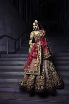 Tarun Tahiliani Bridalwear - Amazing bridalwear to make the bride feel like royalty!