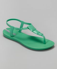 dc0d155a105df3 Green Maya Sandal - IPANEMA Ankle Strap