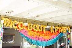 First Fiesta First Birthday Birthday Ideas Taco bout a party