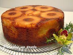 Pecados no prato: Bolo de ananás humido