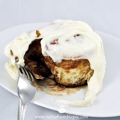 Cinnamon Rolls with Whipped Cream Cheese Frosting Recipe